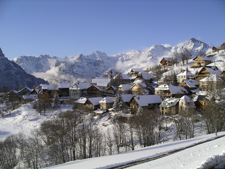 Winter in Villard Reculas, Villard-Reculas