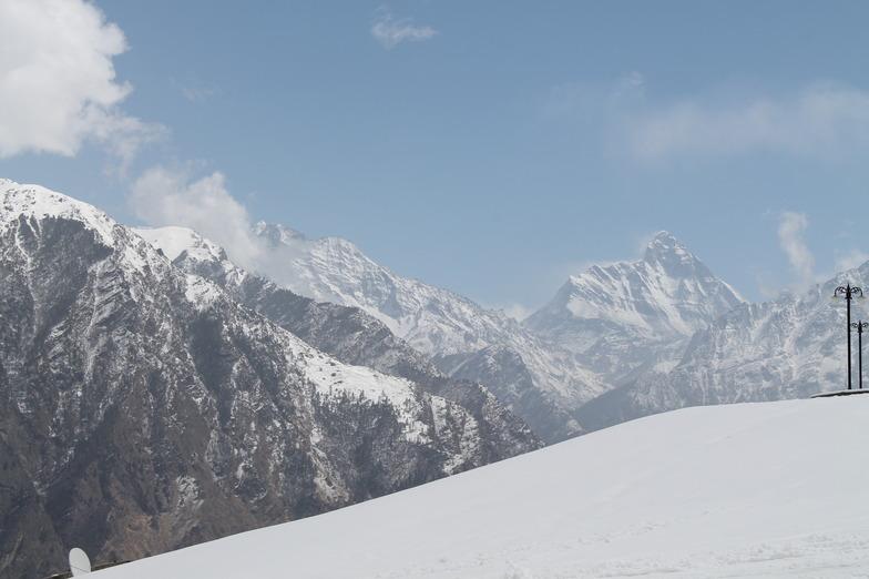 Nanda Devi Peak, Auli