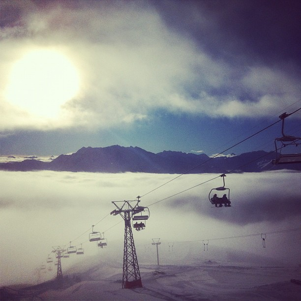 above the magical cloud ocean, Flims Laax Falera