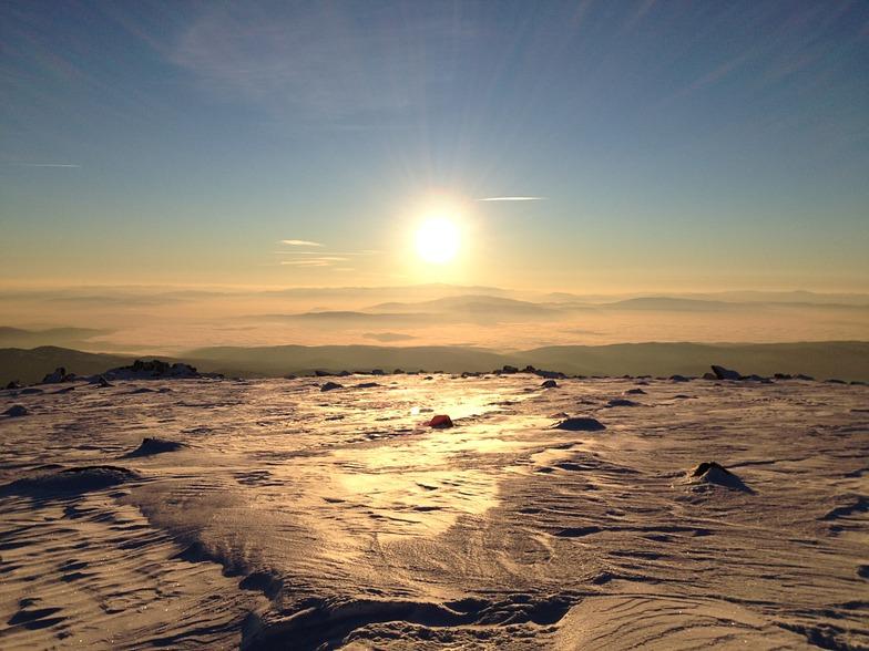 View from Cherni Vruh, Vitosha