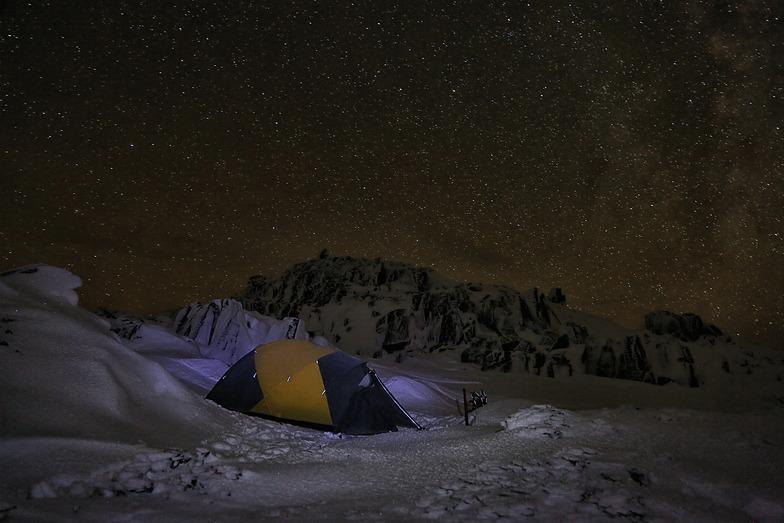 A starry night., Ben Lomond