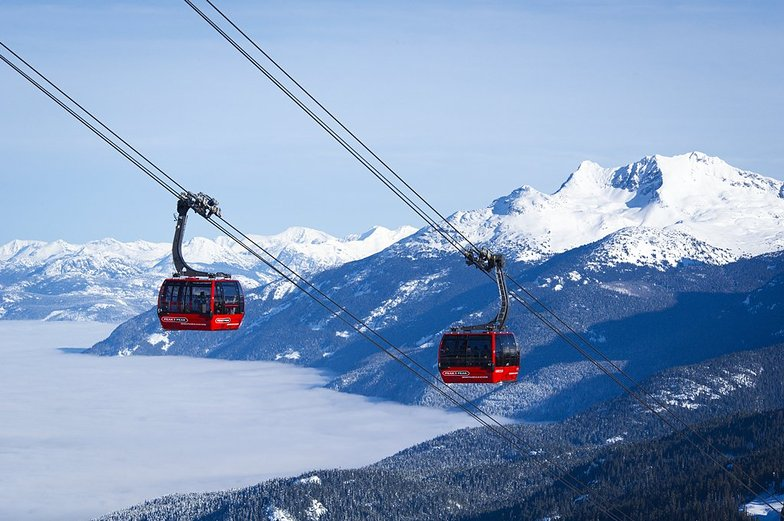 Whistler lifts