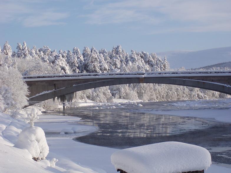 bridge over spey, The Lecht