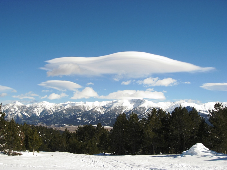 Flying saucers over Font Romeu?