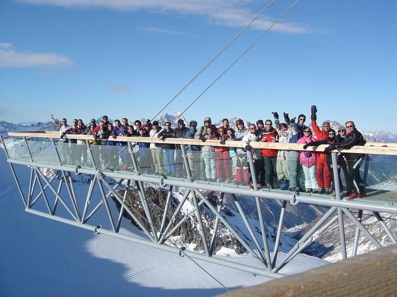 Snowclub.gr in Tiefenbach-Soelden (15/12/04), Sölden