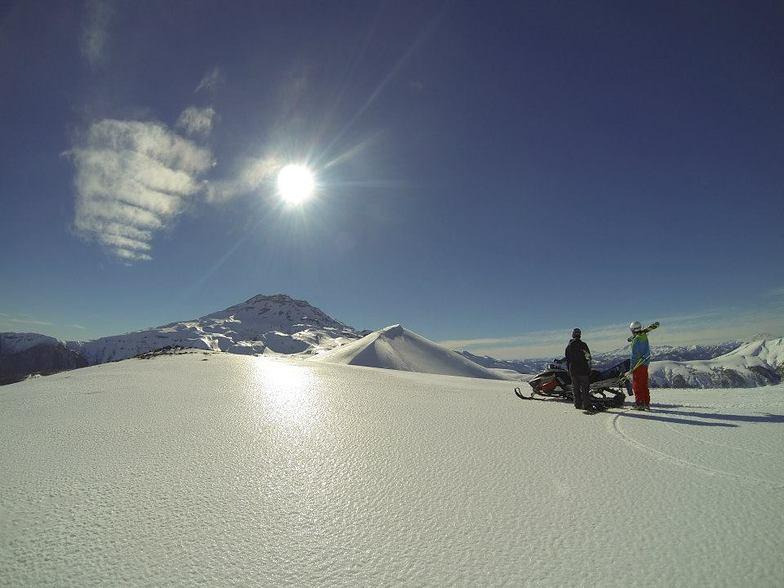 Malalcahuello-CHILE, Corralco Mountain & Ski Resort