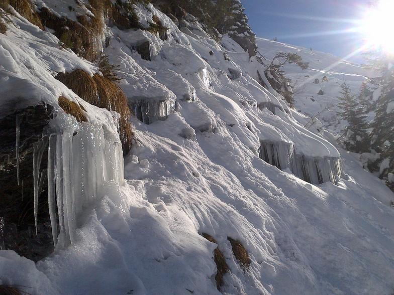 January Stalactite, Avoriaz