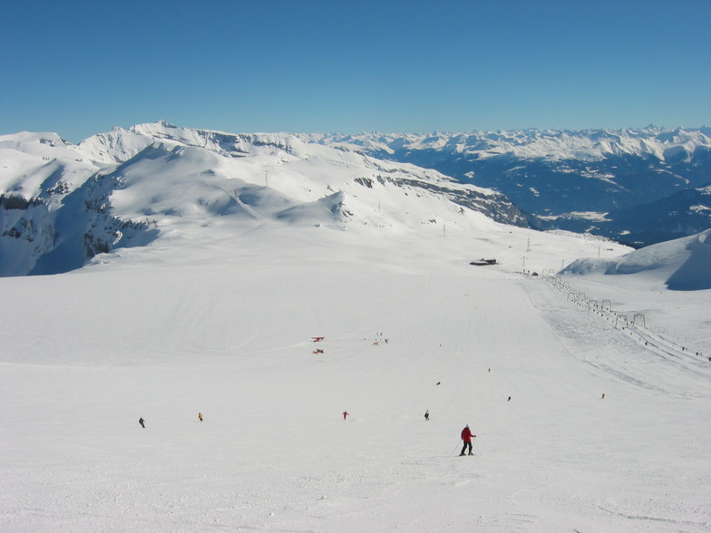 At the top, Flims Laax Falera