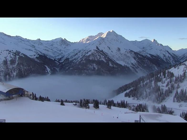 Valley fog, St. Anton