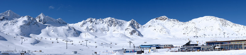 Stubai Panorama, Stubai Glacier