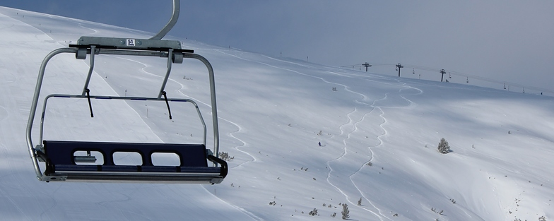 First lift, first lines!, Bansko