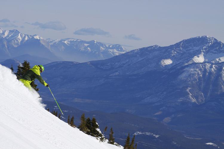 Marmot Basin Peaks