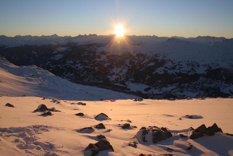 Achtitekt in the snow, Lenzerheide