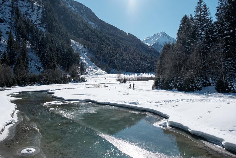 Valley between Neustift and Stubaital