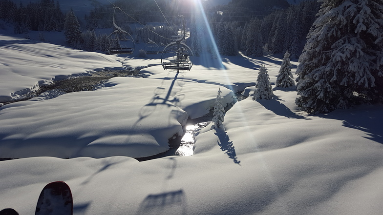 A stunning morning, Morzine