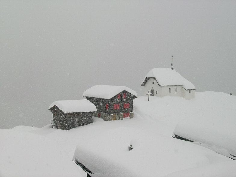 A bleak day at Bettmeralp, Bettmeralp - Aletsch