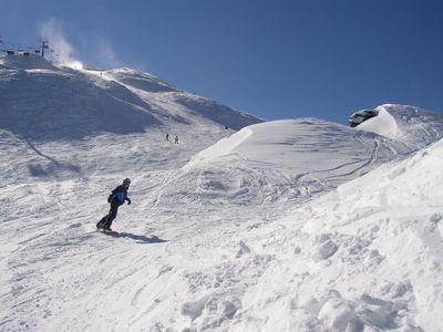 A beautiful day at Coronet Peak