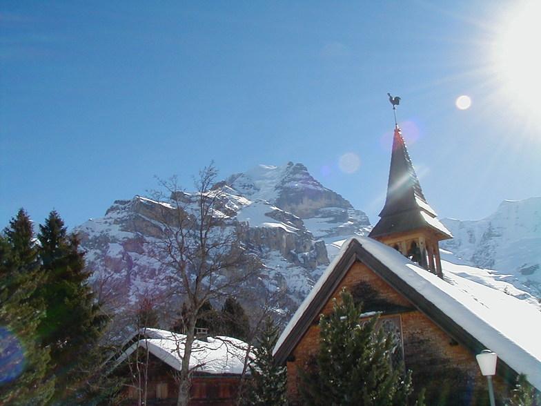 Jungfrau Mountain, Mürren