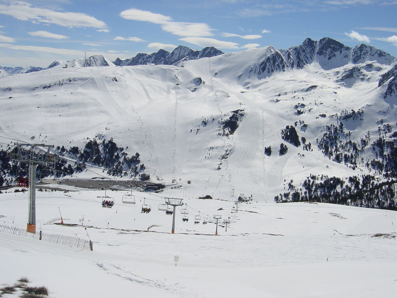 grandvalira-pas de la casa ski resort guide, location map