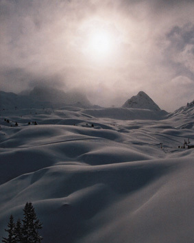 Snowfield: La Plagne