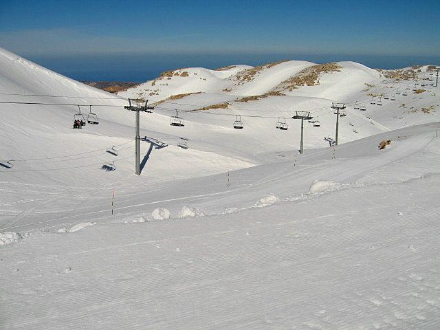 Faraya Mzaar - Couloir, Mzaar Ski Resort