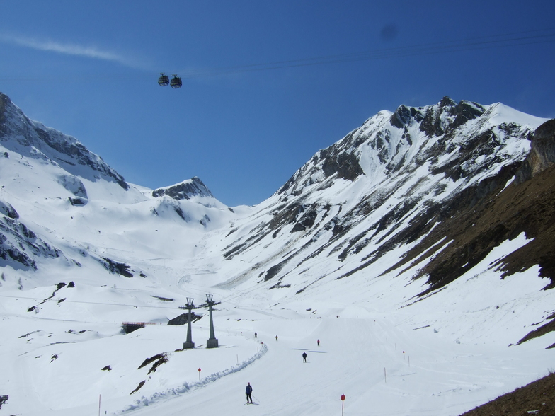 View from Sommerberg, Hintertux
