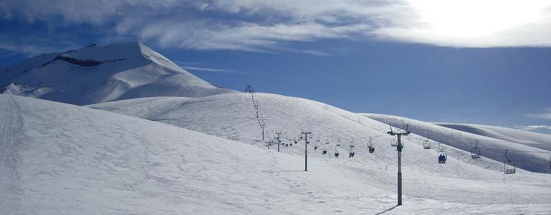 Chailift, Corralco Mountain & Ski Resort