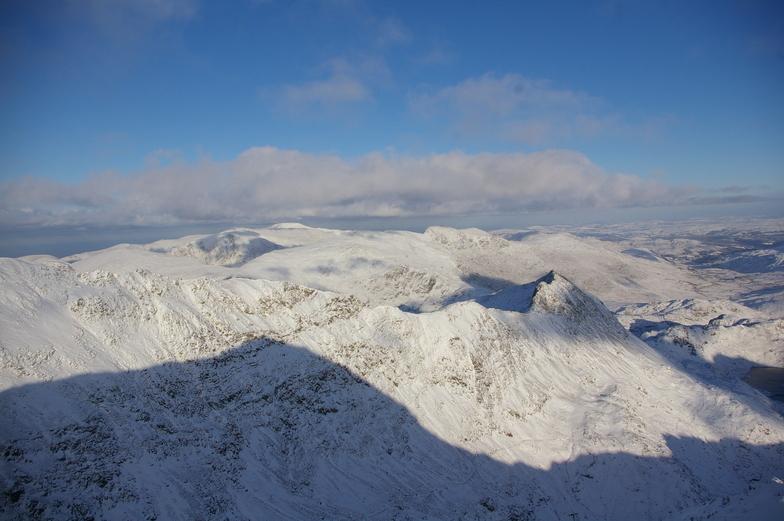 summit shadow!, Snowdon