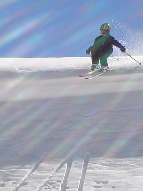 JC Soler, 9 years old, ripping off a cornice..., Los Puquios