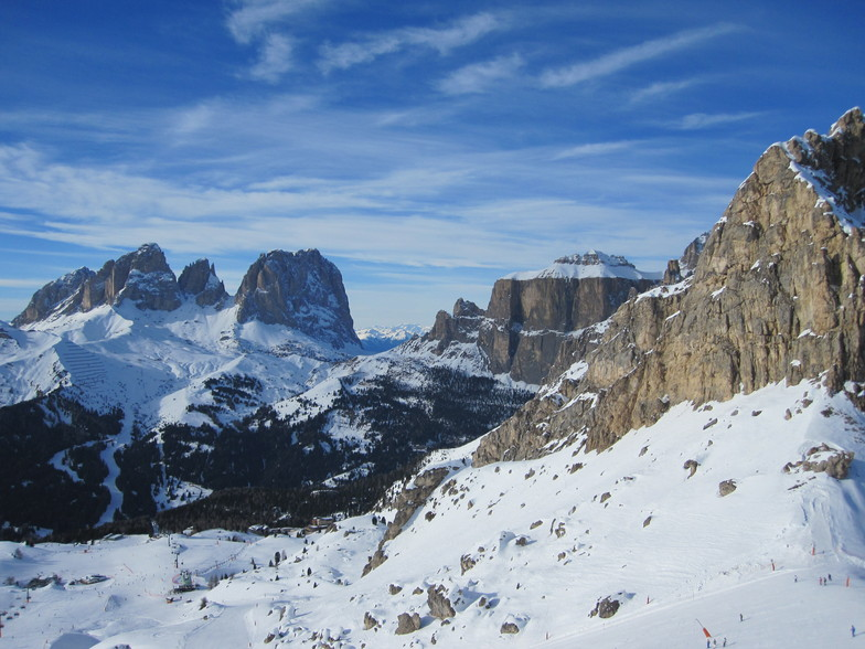 Orange Sellaronda route, Val Gardena