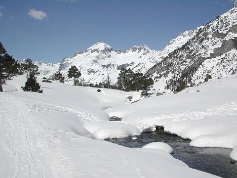 Pron stico de nieve reportes de nieve condiciones de nieve - Spa llanos del hospital ...