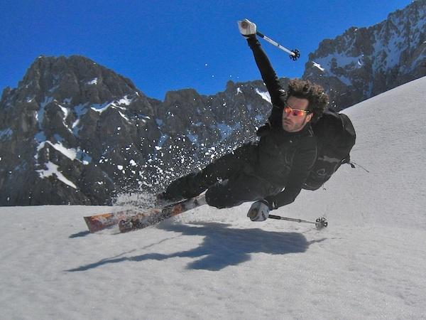 free-heel skiing, Mittenwald/Dammkar