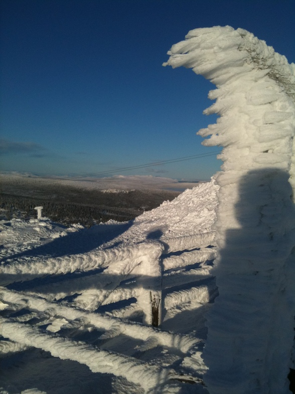 It was clod, Trysil
