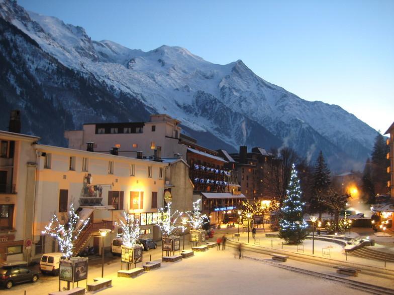 From Hotel Chamonix