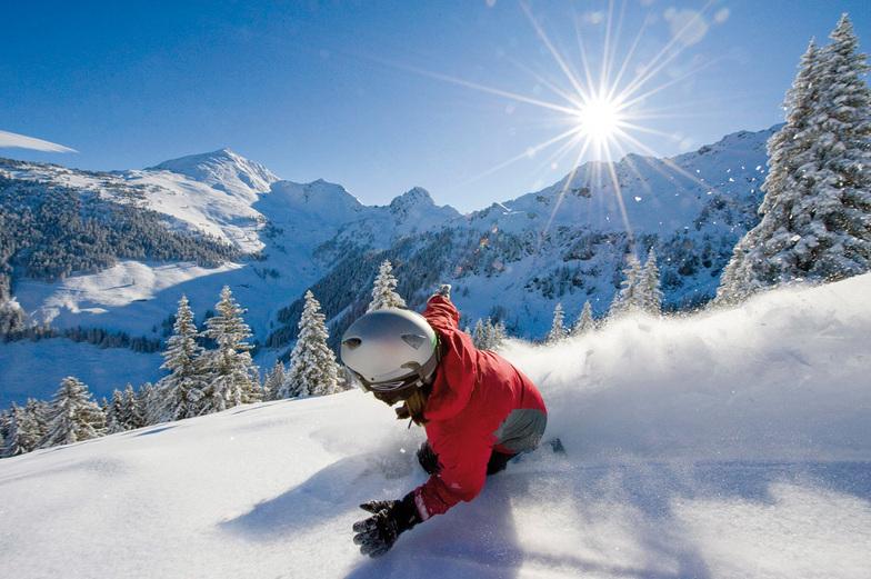 Snowboarding Alpbachtal