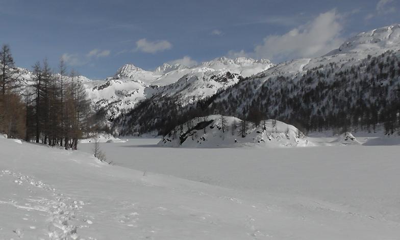 il lago ghiacciato, Alpe Devero