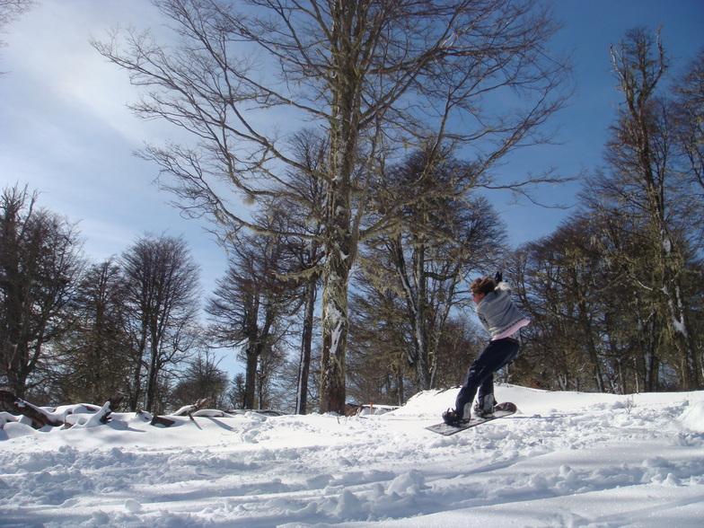 Huella Blanca ski - www.huellablanca.com, Las Pendientes