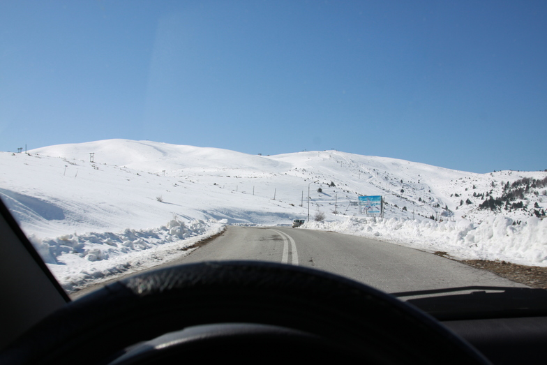 view from the car, Seli