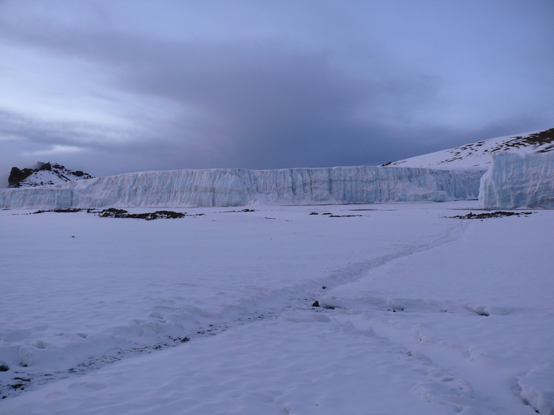 Furtwangler Glacier, Mount Kilimanjaro