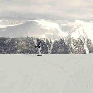 skiing in Livigno
