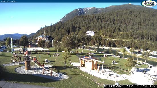 Achenkirch am Achenseeの雪を表すウェブカメラのライブ映像