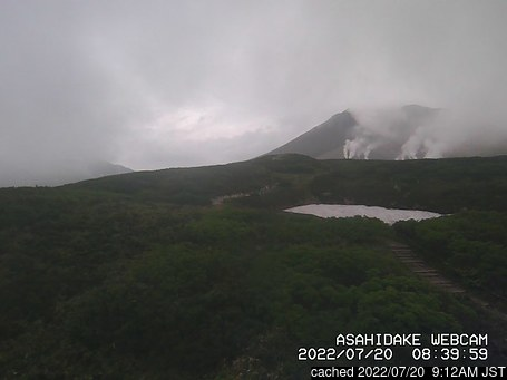 Live Sneeuw Webcam voor Asahidake