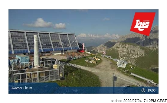 Live Snow webcam for Axamer Lizum