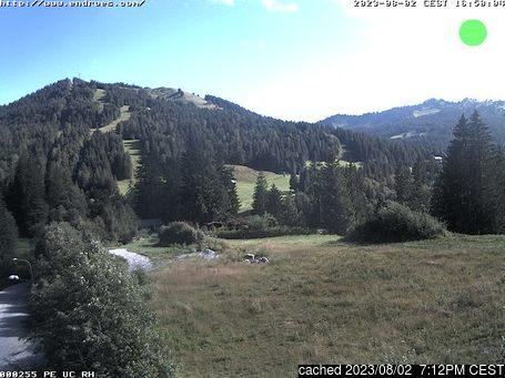 Živá webkamera pro středisko Balderschwang