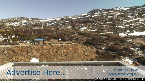 Live Snow webcam for Ben Lomond