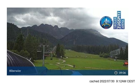 Live webcam per Biberwier se disponibile