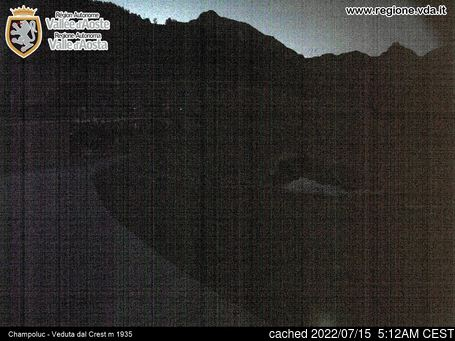 Live Snow webcam for Champoluc