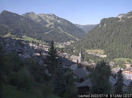 Live webcam per Chatel se disponibile
