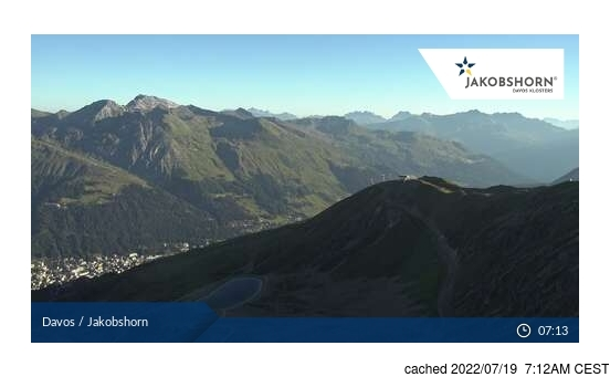Live webcam per Davos se disponibile