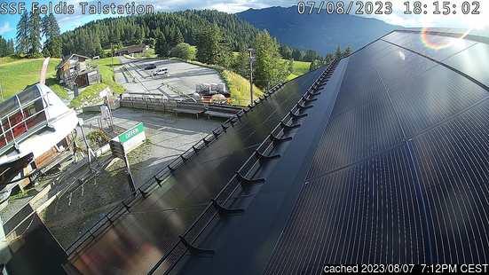 Live Snow webcam for Feldis